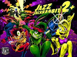 Jazz Jackrabbit 2+ Contest Splash