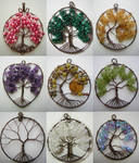 Tree of Life Pendant Collage