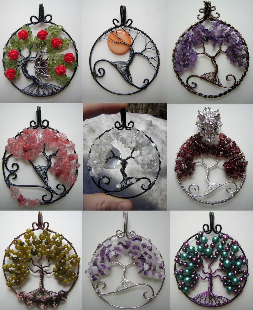 Tree of life pendant collage 2 by pinkfirefly135 on deviantart tree of life pendant collage 2 by pinkfirefly135 aloadofball Choice Image