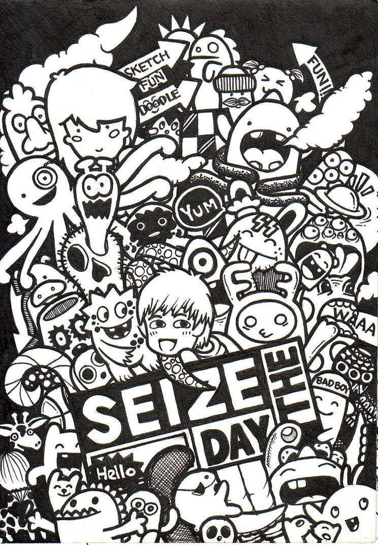 Doodle - Seize The Day by aivvia