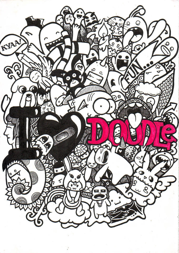 I love doodle by aivvia on deviantart for Love doodles to draw