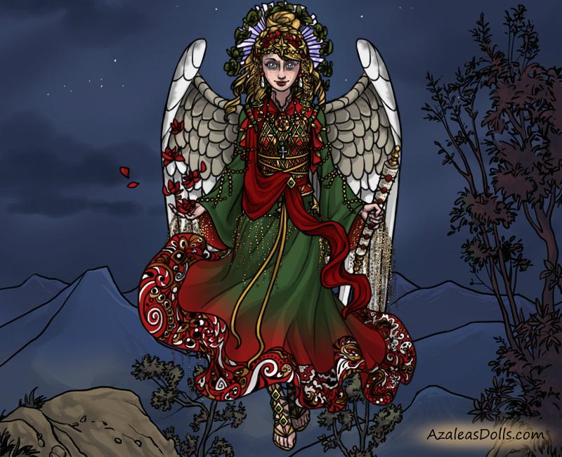 Holiday Angel Entry by adrianaTheGirlOnFire