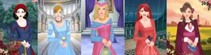 Snow white,cinderella,aurora,ariel,belle p1