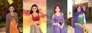 Pocahontas,moana,megara,esmeralda p3