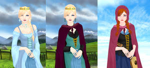 Elsa and anna p4