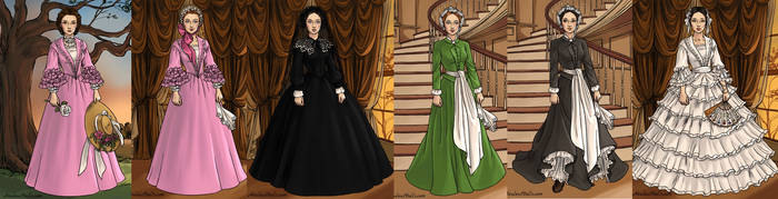 nancy,grace,mary whitney Alias Grace by adrianaTheGirlOnFire