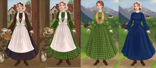 Mary Whitney and grace from alis grace show by adrianaTheGirlOnFire