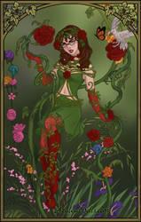 October: Poison Ivy by adrianaTheGirlOnFire