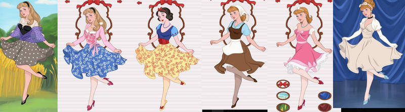 Pin Up Princesses 1