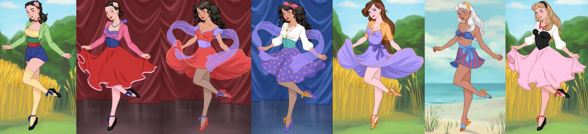 Pin Up Princesses 6