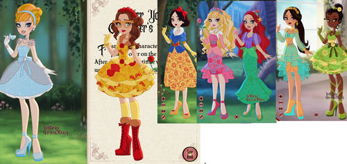 Ever After High Disney Princesses