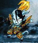Auryna the Lightsworn by JamaSuru