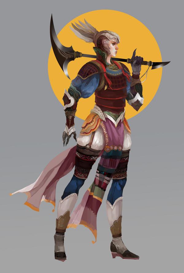 warrior2 by Lea1301