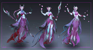 Commission: Dark Elf - concept sketches