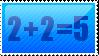 Maths Stamp by Chaildy
