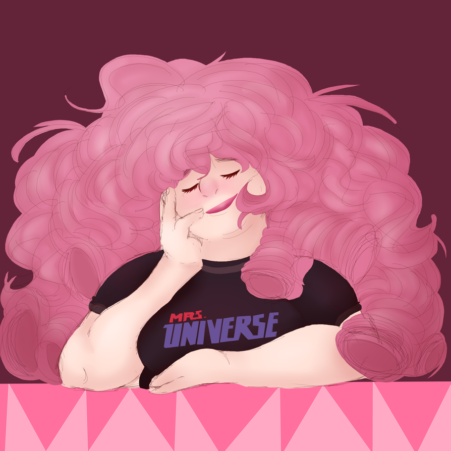 Rose quartz again because she's honestly all I have the energy for right now