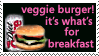 veggie burger stamp by Star-buckDevstamps