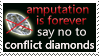 Say NO to conflict diamonds by Star-buckDevstamps