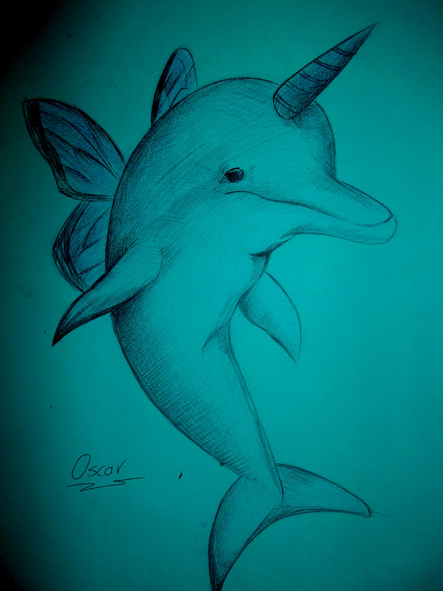 dolphin draw by oscar1987zp on deviantart