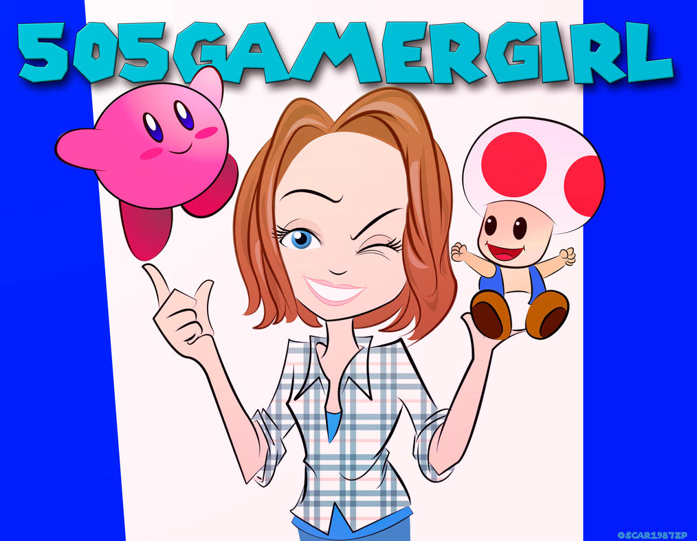 505gamergirl Toad And Kirby by oscar1987zp