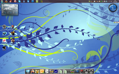 Windows 7 RC with RK Launcher by Scoty