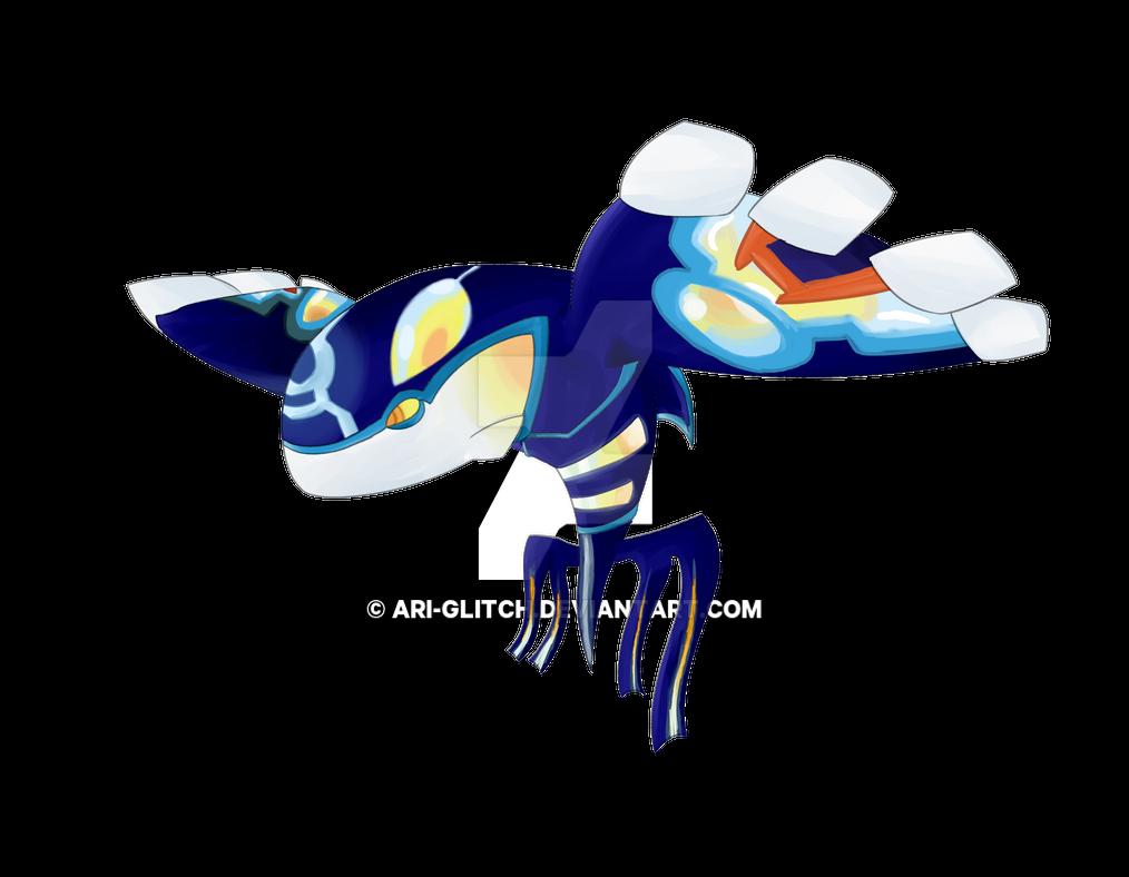how to draw pokemon primal kyogre