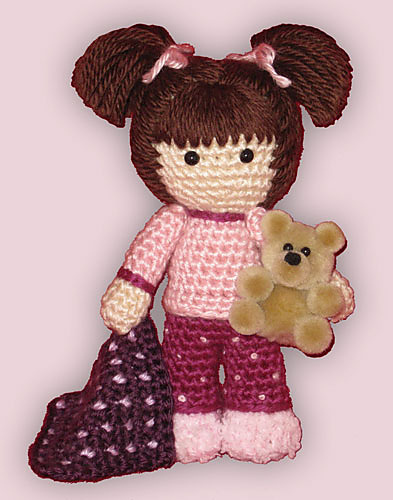 Amigurumi Ready for Bed Doll by ShadyCreations