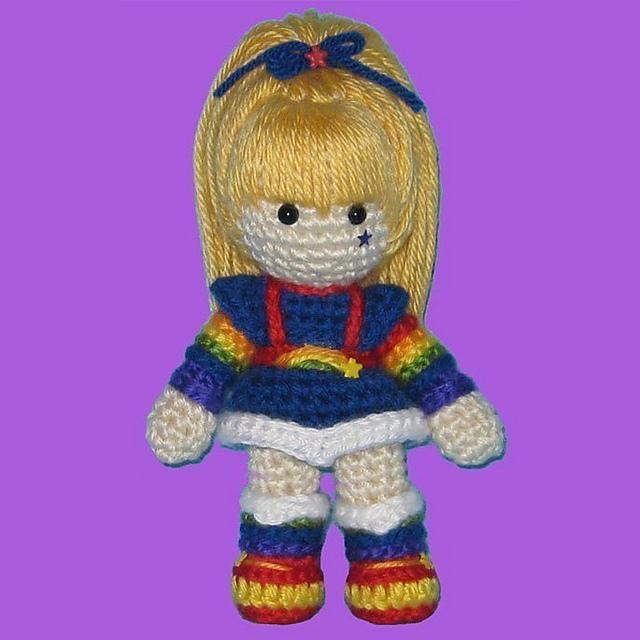 Amigurumi Rainbow Brite by ShadyCreations