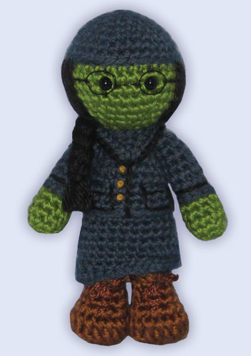 Amigurumi Elphaba by ShadyCreations