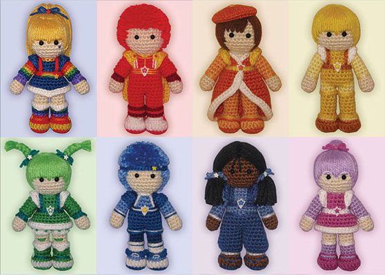Amigurumi Rainbow Brite Color Kids by ShadyCreations