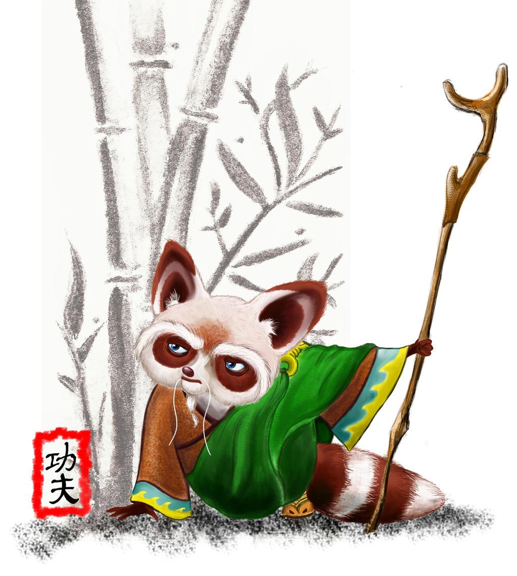 Kung Fu Shifu by TheArtsyAardvark