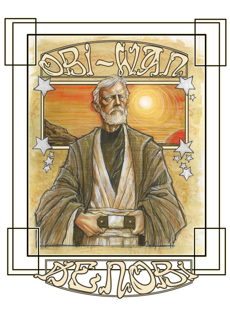 Obi-Wan by ScottJames
