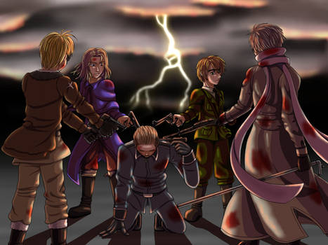 Dark Hetalia: The Final Hour by MangaEngel