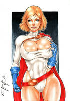 Power Girl by Lima by Augen76