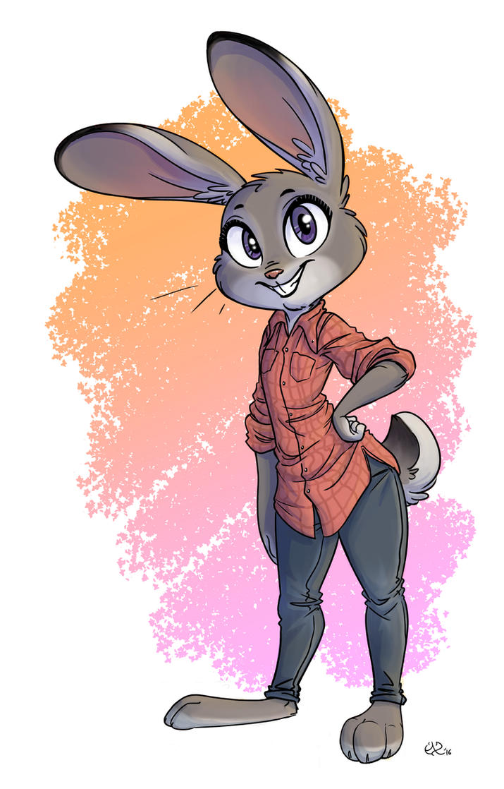 Judy Hopps - Colored by MalimarTheMage on DeviantArt