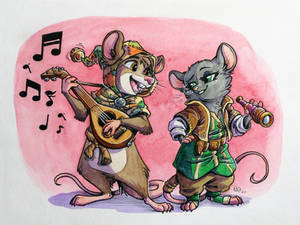 Ghost of a Tale and Redwall Crossover
