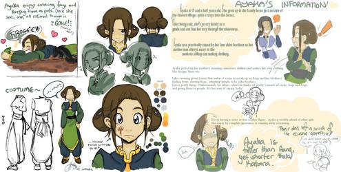 ATLA: OC Ayaka by tonifasic