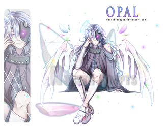 Opal ADOPT AUCTION - CLOSED - by Noreth-Adopts