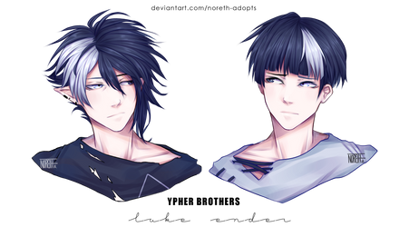 Luke and Ender Ypher by Noreth-Adopts