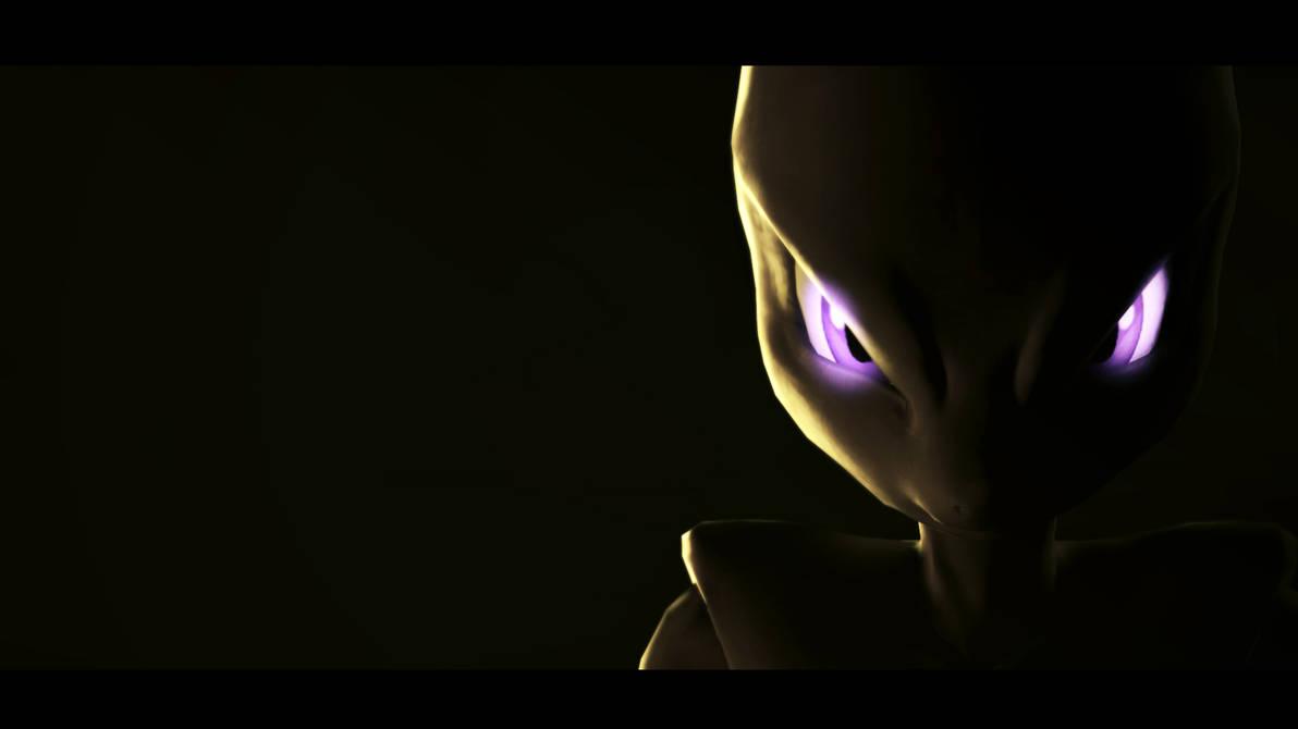 Sfm Pokemon Mewtwo Strikes Back Evolution Poster By Jesusvega780
