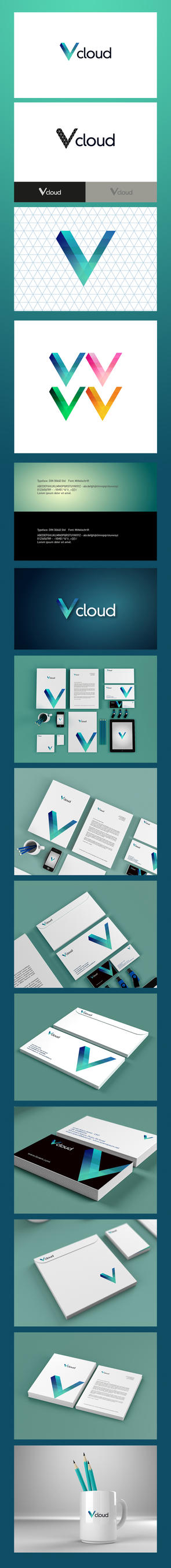 Vcloud logo and stuffs v2 by SDMD