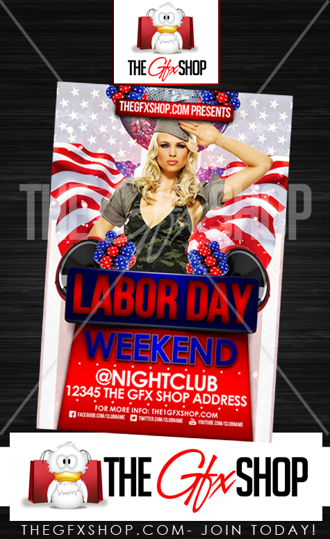 Flyers For Labor Day Weekend Flyer | Www.Gooflyers.Com