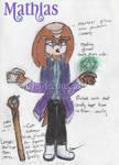 Brotherhood of Guardians Redesigned: Mathias by CharleetheCat-Bat