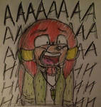Screaming Sojo by CharleetheCat-Bat