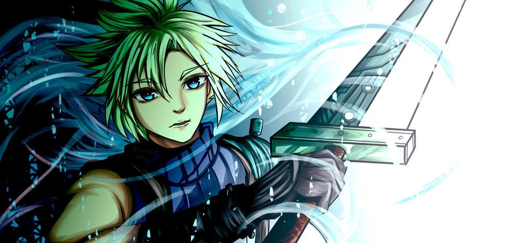 Final Fantasy Fanart Cloud Strife By Ciisaki29 On Deviantart