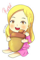 Rose Blackpink Chibi by Ciisaki29