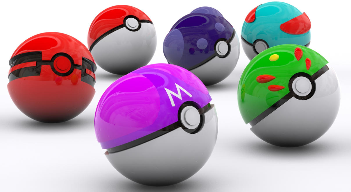 Real Pokeballs That Work Realistic Pokeballs collection