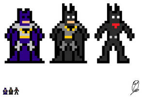 Evolution of Batman by WolfTron