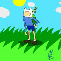 Finn the Human in SAI by WolfTron