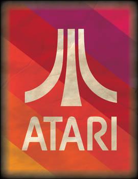 Retro Atari Poster